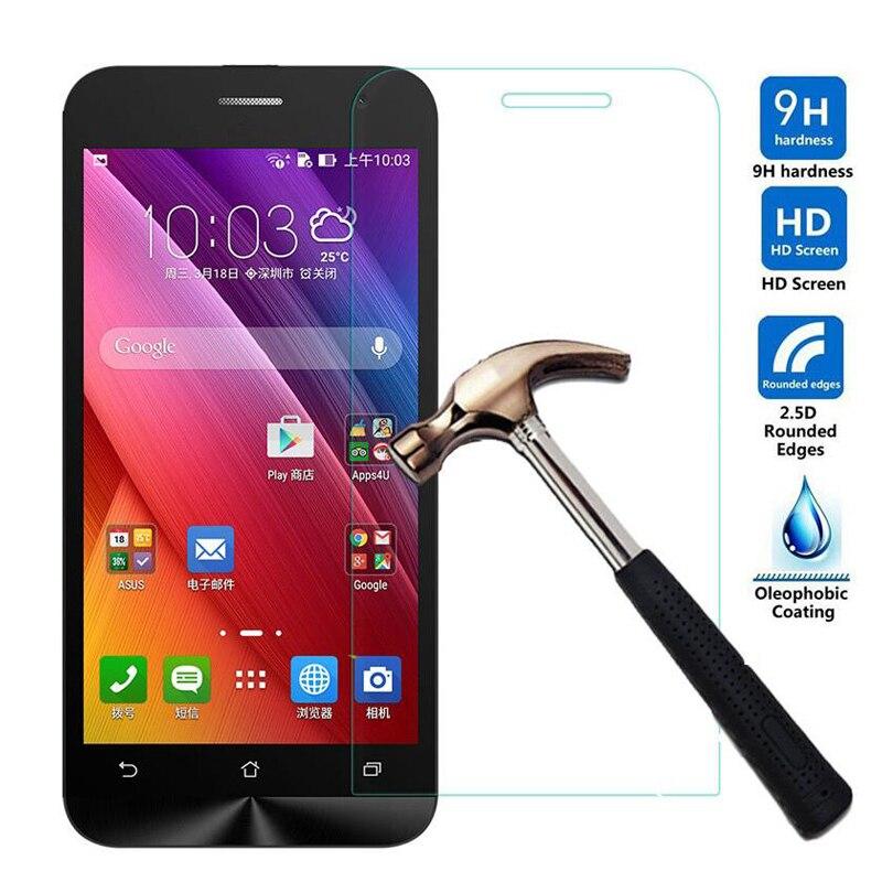 Phone case 001 0.26mm 9H Screen Protector Tempered Glass Film For Asus Zenfone 2 ZE551ML ZE550KL ZE550KL Laser C 4.5 4 5 6 Selfie GO A400CG