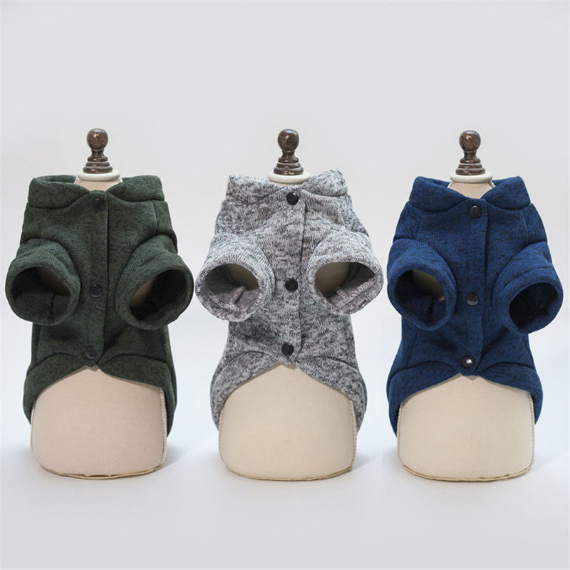 Winter Pet Dog Clothes For Small Dogs Warm Coat Puppy Outfit Pet Clothes for Dogs Large Pet Clothing Chihuahua Hoodies Apparel in Dog Coats Jackets from Home Garden