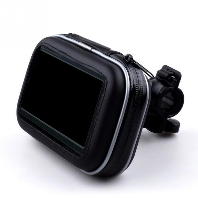 Motorcycle Waterproof 5.5 inch Universal Bicycle Bike Handlebar Mobile Cell Phone Mount Holder Case For Samsung For iPhone 7