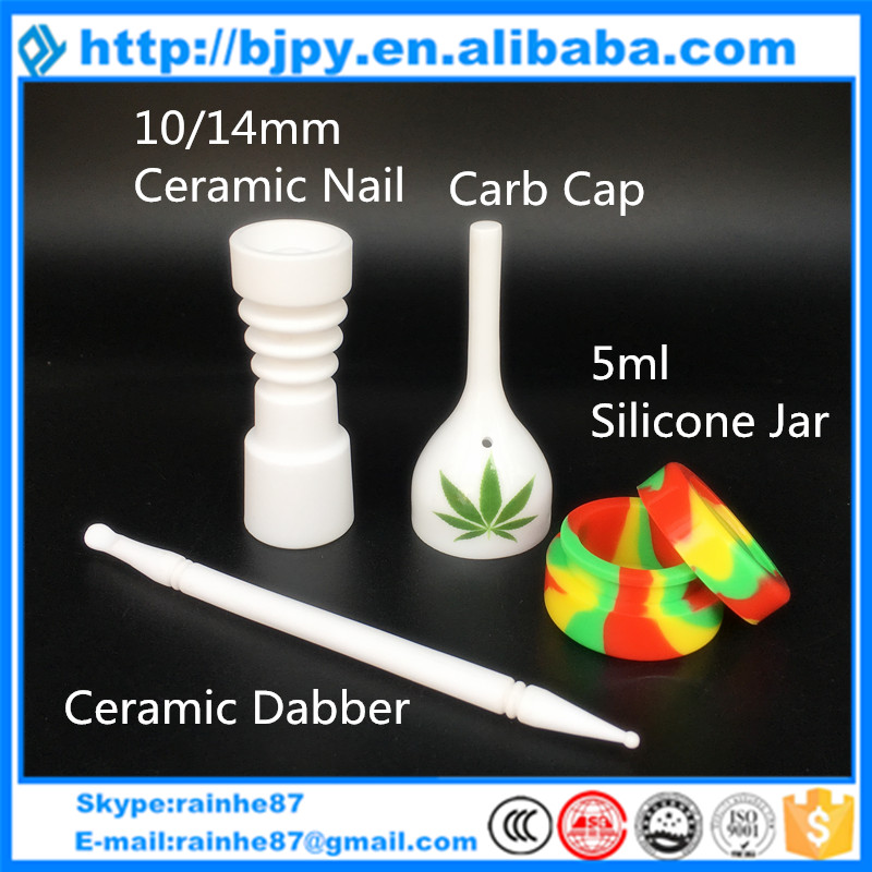 2016 New Style Domeless Ceramic Nail 14mm 18mm Female Male