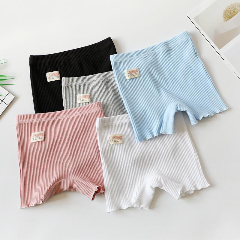 2020 Summer Girls Safety Panties Top Quality Toddler Kids Clothes 2-11 Years Baby Girl Shorts Pants Stretchy Cotton Underwear