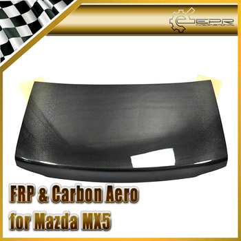 Discount Car Styling For Mazda MX5 NA MK1 OEM Carbon Fiber Trunk