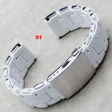 Liaopijiang из нержавеющей стали водонепроницаемый резиновый ремешок для часов мода альтернативные dz5305 dz5306 dz5320 часы аксессуары
