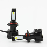 HoldCY Car LED Headlight H8 H9 H11 Singe Beam Auto Headlamp Bulb 76W 7600LM 6500K COB
