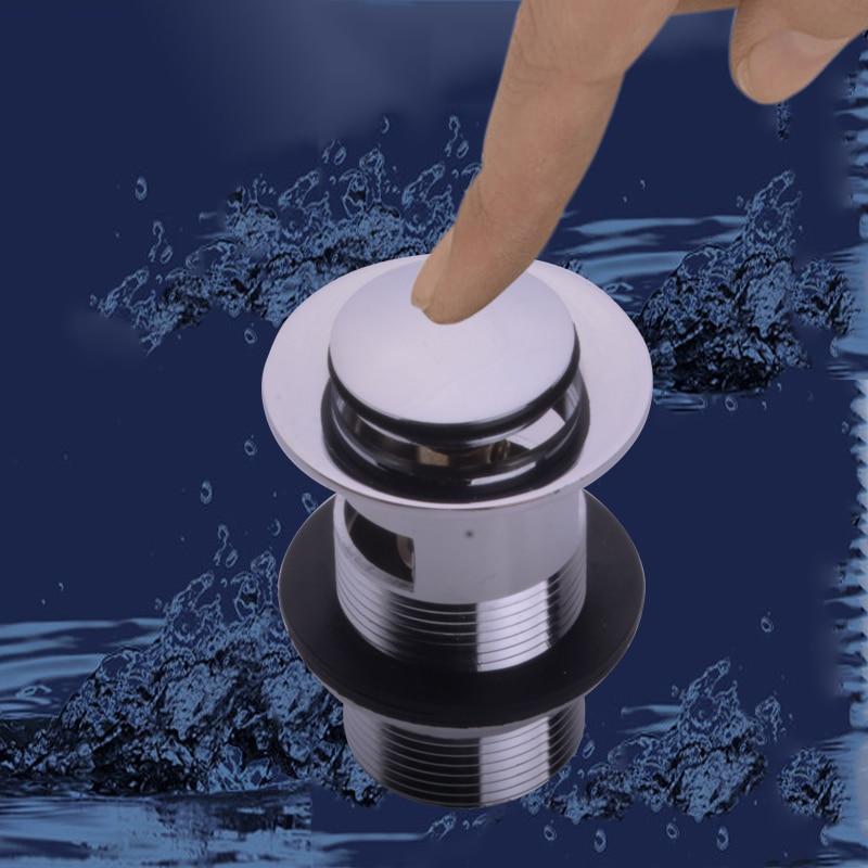 ᑎ‰F&P New Press flip bath waste zinc alloy chrome plated high ...