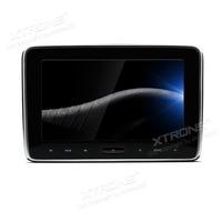 Xtrons 10.1 ''HD цифровой подголовник автомобиля dvd плеер монитор Авто Радио PC TFT Экран touch Панель 1080 P видео с HDMI Порты и разъёмы