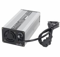 360w 24v 12a 7s li ion battery charger for ebike EV car battery charger Aluminium Alloy with Fan