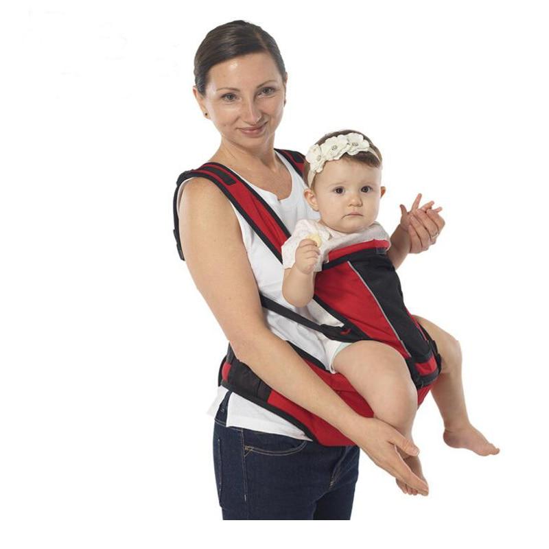 Respirant Ergonomique Bébé Dos Transporteurs Réglable Infantile Sac À Dos  Multifonctionnel Enfant Porteur Sling Pour Nouveau-Né 8a4561b25b1
