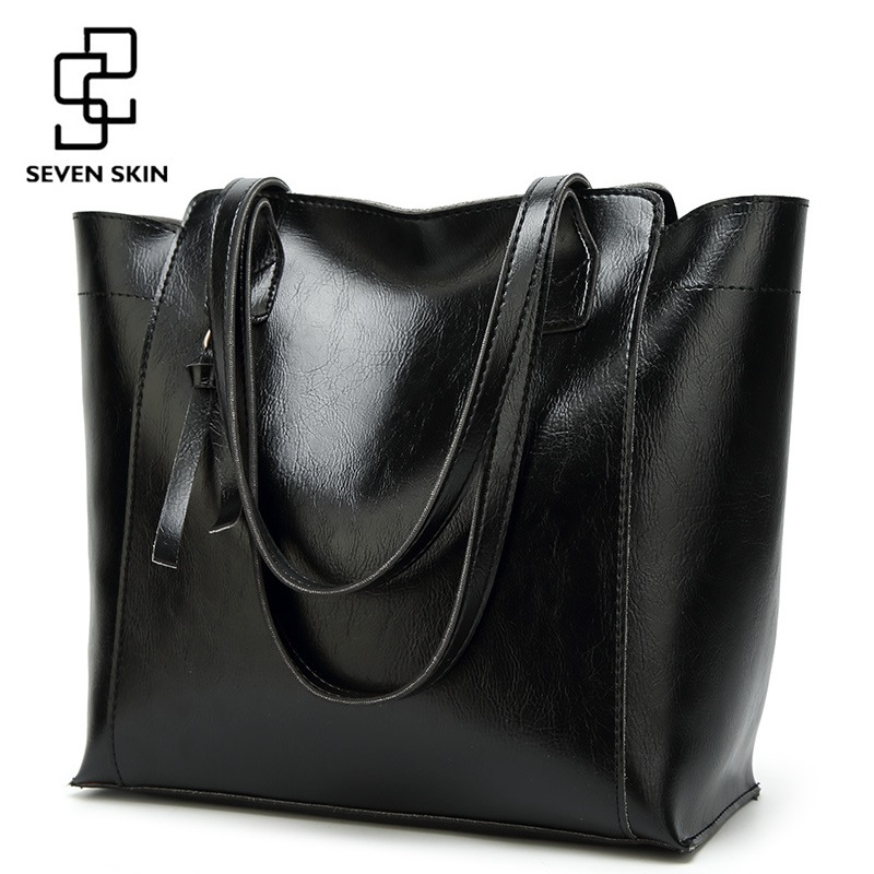 Detail Feedback Questions about SEVEN SKIN Women Luxury Designer Shoulder  Bags Female Fashion PU Leather Handbags Women Large Capacity Tote Bag  Messenger ... 5cd949c899