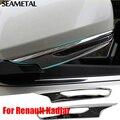 Para Renault Kadjar 2016 2017 Capas de Espelho Fricção Carro ABS Cromo Guarnição Chromium Styling Decoração Auto Acessórios Exterior