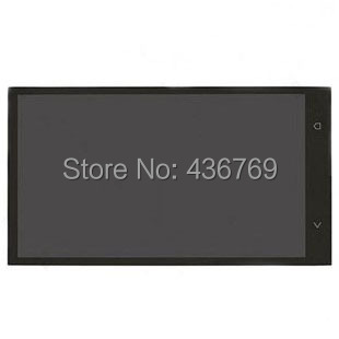 ЖК-Дисплей С Сенсорным Экраном Дигитайзер Ассамблеи Для HTC ONE M7 802D 802 t 802 Вт HTL22 Панели внешний переднее Стекло Объектива черный