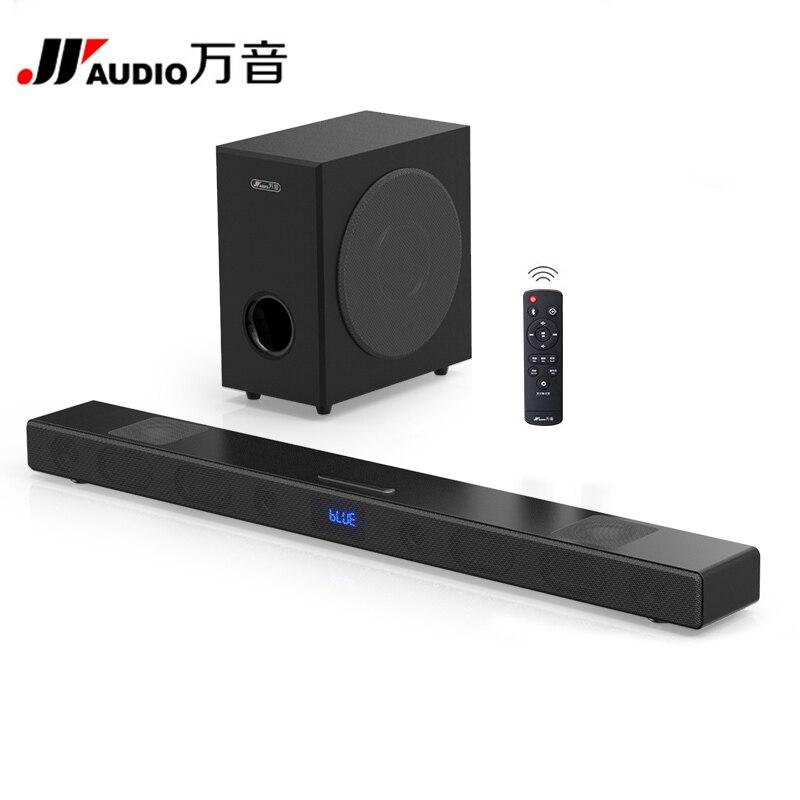 A9 Bluetooth Soundbar Avec S5 Subwoofer 3D Son Home Cinéma Système Barre de Son HIFI Sans Fil Haut-Parleur Pour TV AUX TF entrée optique