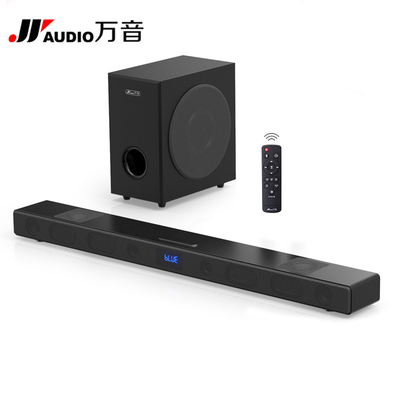 A9 Bluetooth Soundbar With S5 Subwoofer 3D Home Theater Sound System Sound Bar HIFI Wireless Speaker For TV AUX TF Optical Input