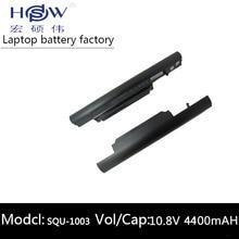 BATTERY FOR HASEE A560P K580P HAIER T520 R410 R410U R410G SQU-1003 SQU-1002 916T2134F CQB913 CQB912 3UR18650-2-T0681 SQU-1008 все цены