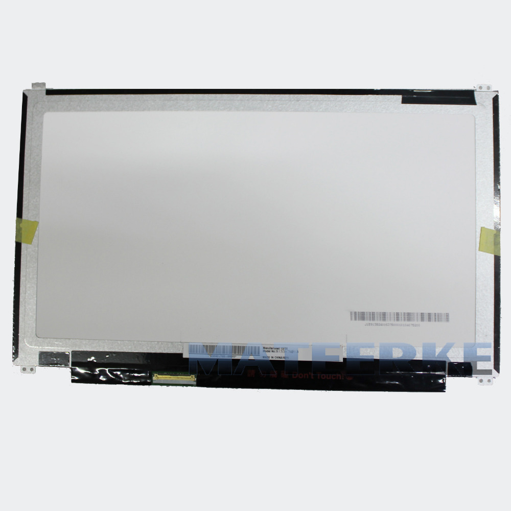NEW Laptop 13.3 LED LCD Screen B133XTN01.5 WXGA HD Slim Display Replacement, 1366 x 768 original 14 1366 x 768 wxga hd lp140wh6 tj a1 laptop led screen for 14z l412z