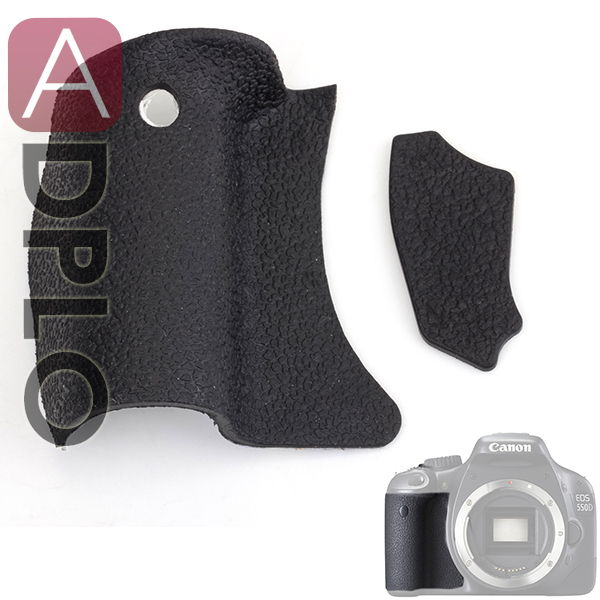 A Set Of Camera Accessory  Body Rubber Cover Replacement Part Suit For Canon EOS 550D / Rebel T2i / Kiss X4