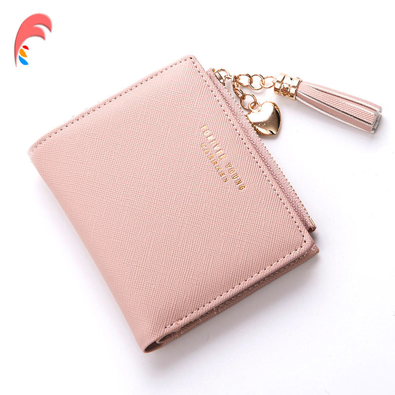 Leather Small Wallet Women Lux...
