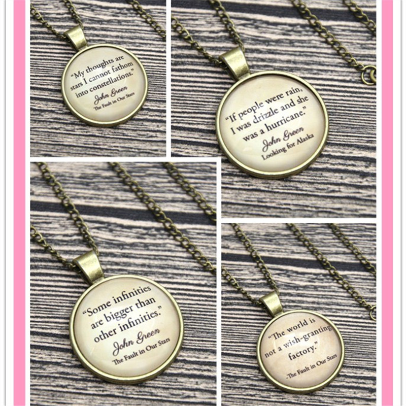 John Reen Quote Necklace Keyring The Fault In Our Stars Long For