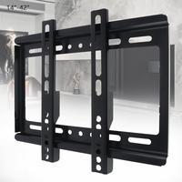 Универсальный тонкий 25 кг 14-дюймов 42 дюймов ТВ настенный крепёжный кронштейн плоская панель ТВ рамка с градиентом для ЖК светодио дный мони...