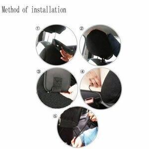 Image 4 - Support universel de sac accrochant de poche Multi de stockage dorganisateur de siège latéral automatique de voiture