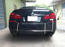 F10 F18 5 Series V Style Carbon Front Splitter Spoiler Designed For The  BMW F10 F18 5 SERIES (fit for M-TECH bumper only)