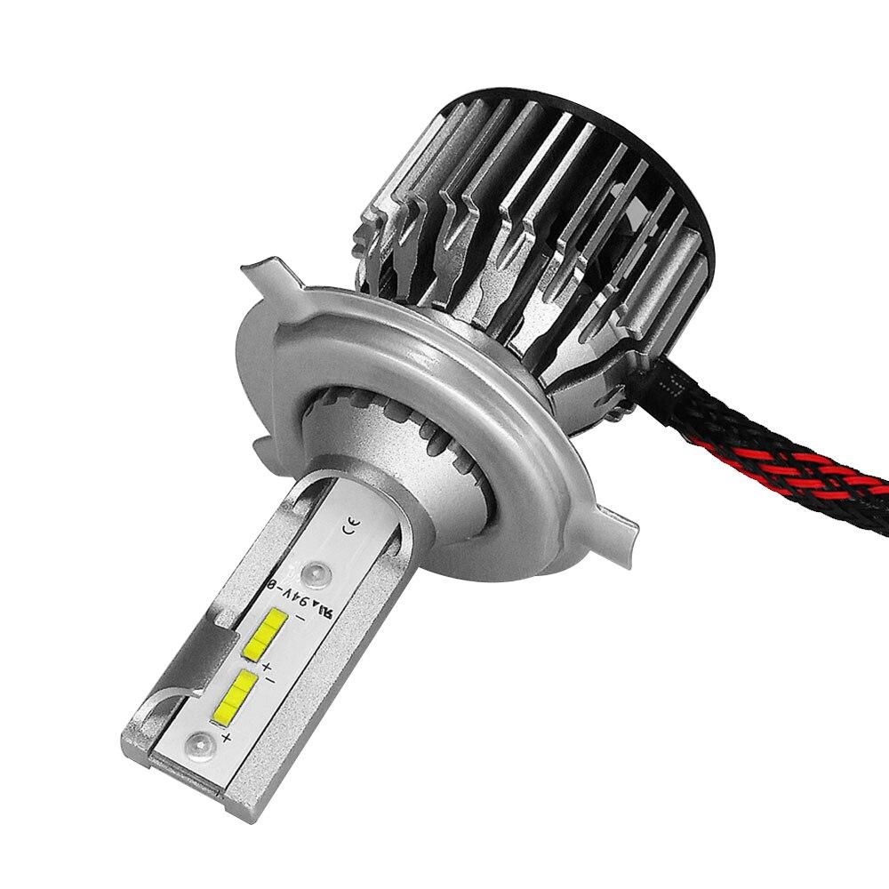 Спереди лампа H4/HB2/9003 Универсальный светодиодный фар безопасности светодиодный фонарь супер яркий свет лампы