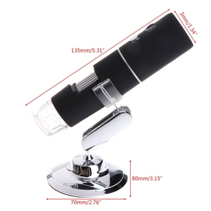 Image 3 - 2020 Newest 3 colors 1080P WIFI Digital 1000x Microscope Magnifier Camera for Android ios iPhone iPad