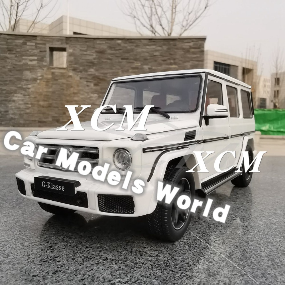 Diecast Car Model for iScale G Class G Klasse White 1 18 SMALL GIFT