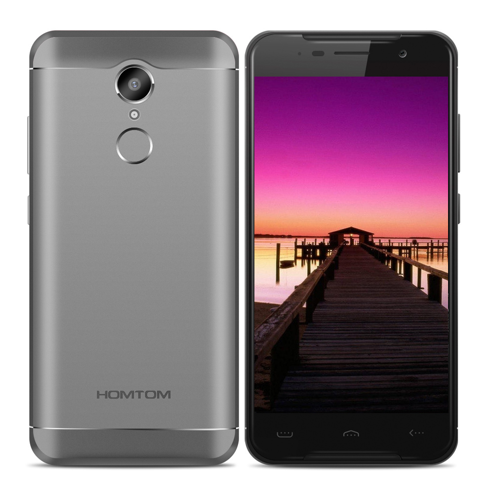 HOMTOM HT37 PRO Original 4G Smartphone Android 7.0 3 GB + 32 GB 5,0 Zoll MTK6737 1,3 GHz Quad Core 13.0MP HD Bildschirm Handy