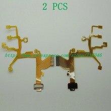 2 шт./ объектив основной гибкий кабель для Sony dsc-w120 dsc-w130 dsc-w220 dsc-w230 W120 w130 W220 W230 цифровой Камера