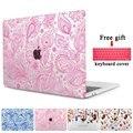 Чехол Для Macbook Pro 13 A1706/A1708 Красивые Цветочные Бесшовные Чехол для ноутбука для Mac Book Pro 15 дюймов A1707 Touchbar случае