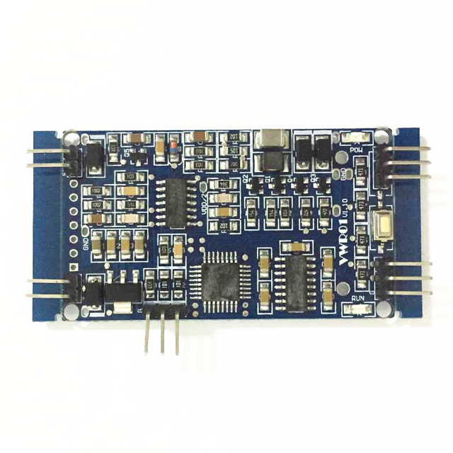 US $59 0 |Vibrating Wire Sensor Measurement Module Vibration Wire Reading  Test Board WIN311-in Integrated Circuits from Electronic Components &