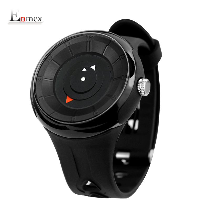 2017 men s gift Enmex new style creative brief wristwatch waterproof simple design light sports casual