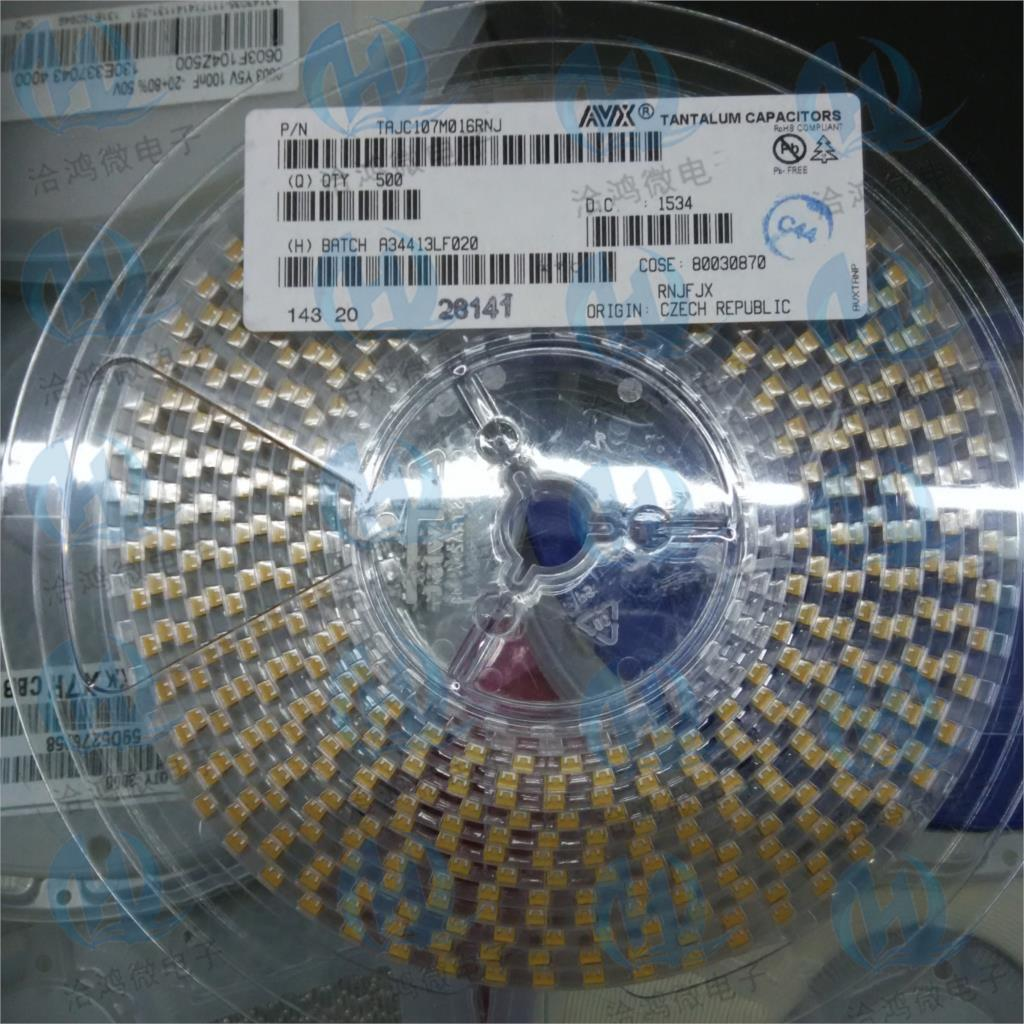 10 condensateurs tantale 1uF 25V AVX