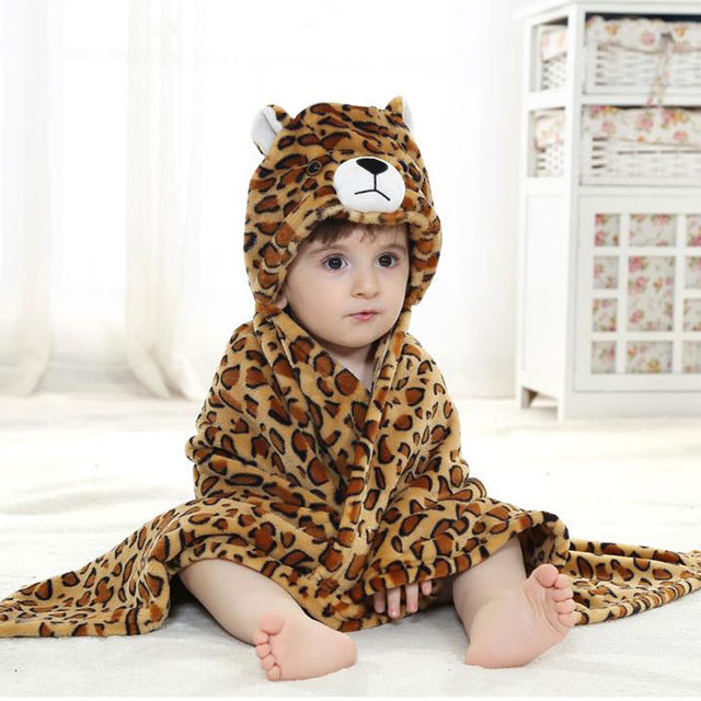 Online Shop Gauze Baby Hooded Towel Cotton Stuff Toalha De Banho ...
