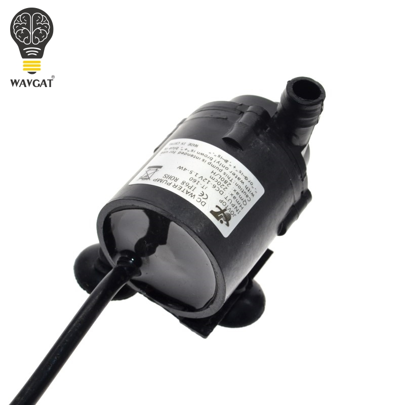 WAVGAT 6V 12V DC Brushless Small Water Pump Motor Pump DIY ...