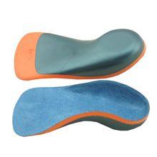 1 Pair Kids Shoe Pad Flatfoot Valgus Correction Half Cushion Insole Heel Pads Arch Support EVA Shockproof Orthopedic Children недорого