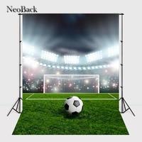 NeoBack 5x7ft Vinyl Cloth Football Sports Event Photo Backgrounds Children Kids Studio Senior Portrait Photo Backdrops A2325