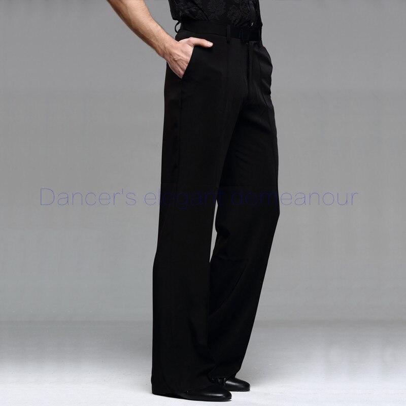 Mens latin dance costume mens spandex latin dance trousers mens Rumba / Samba / Tango Cha Cha / Jazz mens Dance wear