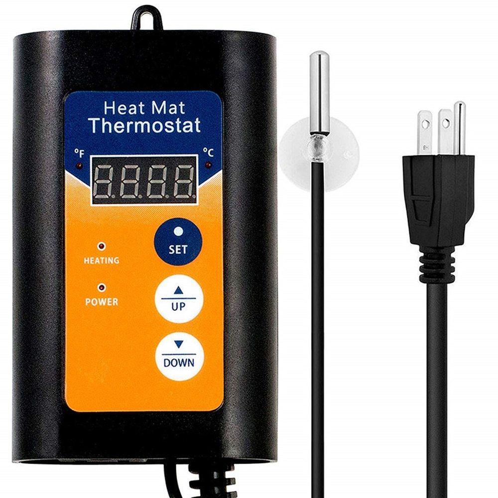 1000W Plant Greenhouse Digital Temperature Controller Intelligent Temperature Control Regulator Thermostat Device