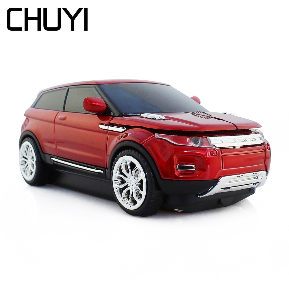 CHUYI Wireless Mouse SUV Sport Car Mice Optical Mini Computer USB Cute USB Mause Mice With Usb Receiver For PC Laptop Notebook|Mice| |  - title=