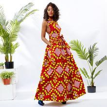 African dresses for women ankara cotton print dress african sexy traditional wedding