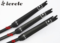 Free Shipping Ievele Full Carbon Fork 3k UD 12K 700c Fron Black Fork Fibre Road Bicycle