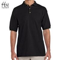 צבע אחיד אופנה hanhent polo דש כותנה גברים חולצות מותג חולצות עסקים קלאסיים צבעים קיץ polo חולצות סיטונאי