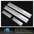4PCS-Set Car Accessories Stainless Steel Car Door Sill Scuff Plate Pedal Protector Guard For Jeep Wrangler JK 2007-2015