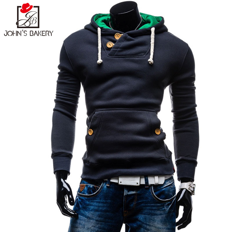 Winter Hoodie Sportswear Velvet Hip-Hop Autumn Fashion XXL Men Men's Plus Brand