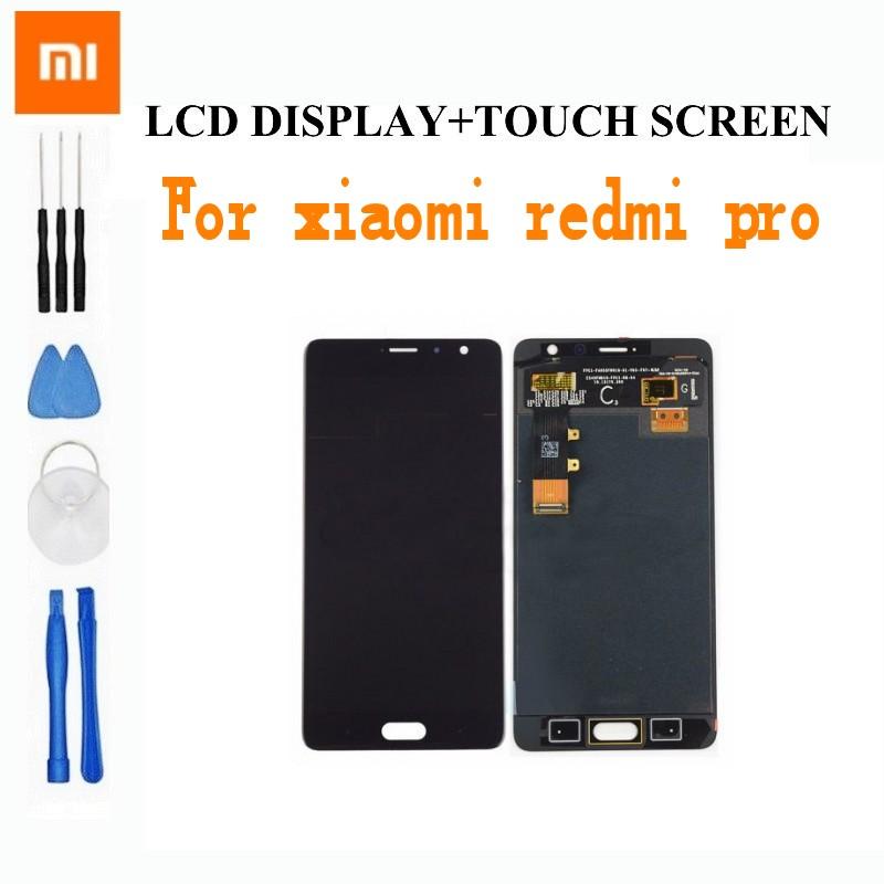 Prix pour Pour Xiaomi Redmi Pro écran lcd + Écran Tactile Digitizer haute Qualité Remplacement pour Xiaomi Redmi Pro Premier 5.5 pouce téléphone