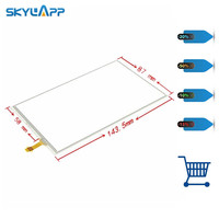 Skylarpu 6 inch touchscreen for LMS606KF01 LMS606KF01 003 GPS Navigation Touch panel Glass Digitizer Free shipping
