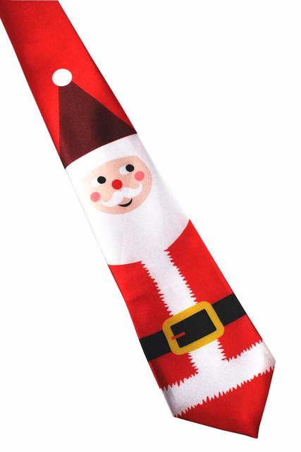 GUSLESON 2017 New Design Christmas Tie 9.5cm Style Men's Fashion Neckties Helloween Festival Tie Soft Designer Character Necktie