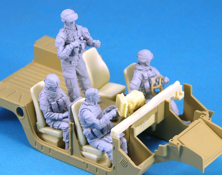 pre order-Resin toys L0129 US Vehicle Crew set Free shipping pre order resin toys l0117 us oif soldier at rest free shipping